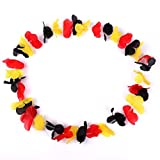 Toy - S/O� 100er Pack Blumenkette Deutschland Blumenketten Hawaiikette Hawaiiketten Hawaii Kette Blume Bumen Halskette Halsketten Deko