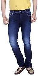 INTEGRITI Men's Jeans (ATTITUDE-273.S SKFT RAW_36, Blue, 36)