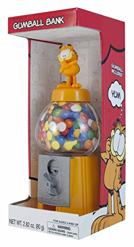 sweet-n-fun-garfield-85-classic-style-gumball-bank-with-60-g-gumballs