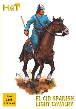 Hat Figures - EL CID Spanish Light Cavalry - HAT8201