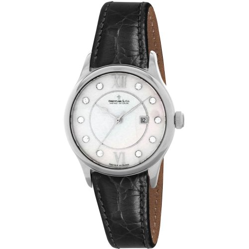 Dreyfuss Ladies Mother Of Pearl Strap Watch DLS00040-07