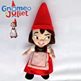 """Gnomeo & Juliet Film Plush Red-hat Juliet Character Garden Gnomes Soft Toy 12"""""""