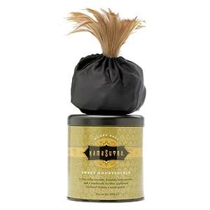 Kama Sutra Sweet Honeysuckle Honey Dust Body Powder -- 8 oz