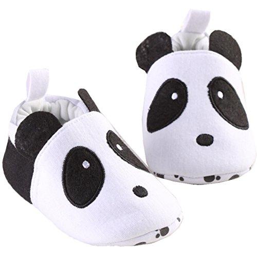 Bambino Unisex Bambino Scarpe Carino Scarpe Disegno del Panda del Bambino (M:6-12 months)