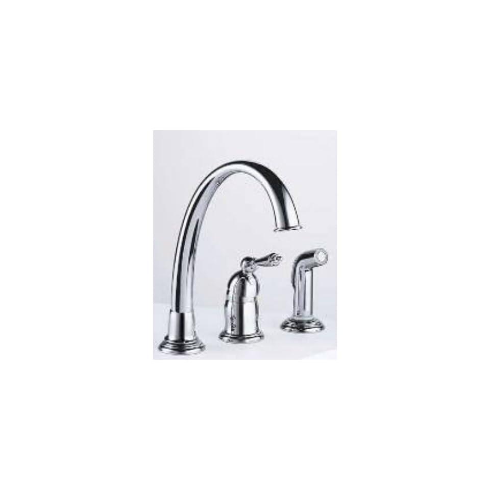 Brizo Faucets 61201 Brizo Providence Single Handle Widespread Faucet Venetian Bronze