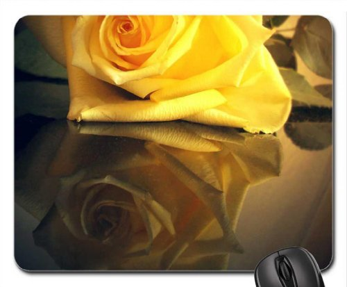 Look into the Mirror Mouse Pad, Mousepad (Flowers Mouse Pad)