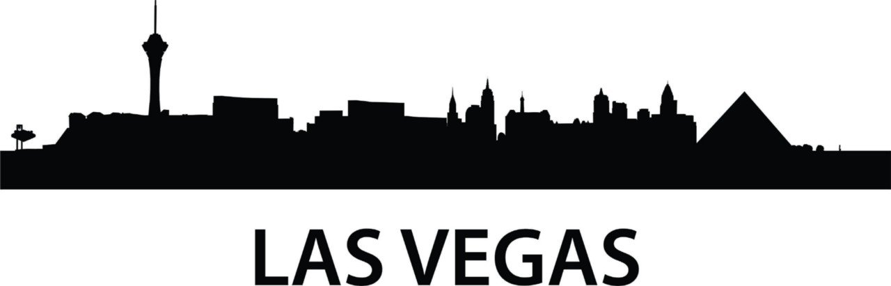 Amazon.com - Las Vegas Skyline Wall Picture Art -COLOR=AS SEEN ...