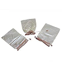Kuber industries Shoe Cover Set of 6 Pcs in Imported Material (Golden)