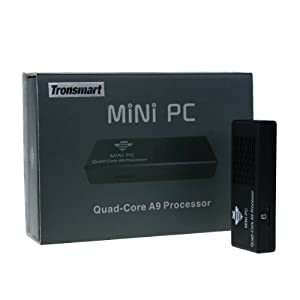 Tronsmart MK908 Google Android 4.1 Mini PC TV Box RK3188 Quad Core 2G/8G BT Black