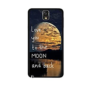 LoveMoon Case for Samsung Galaxy Note 3 Neo