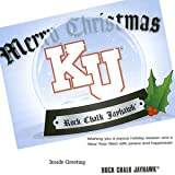 Kansas Jayhawks Christmas Card Snowglobe 10 pk at Amazon.com