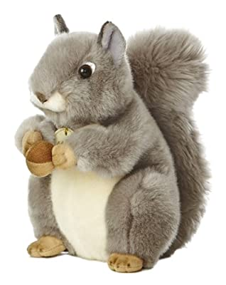 "Aurora World Miyoni Grey Squirrel 8"" Plush by Aurora World Inc"