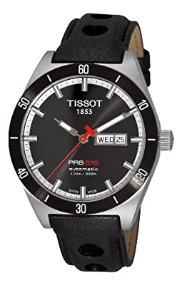Tissot Men's T0444302605100 T-Sport PRS 516 Black Day Date Dial Watch