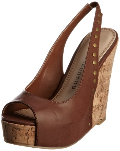 Chinese Laundry Women's Dazzler Brown Wedges 5052125672803 7 UK