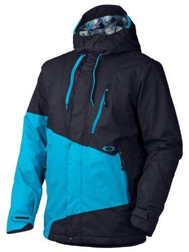 Oakley Division Snowboard Jacket Navy Blue Mens Sz S