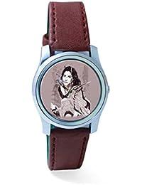 BigOwl Vidya Balan Painting Analog Men's Wrist Watch 2204826136-RS2-S-BRW