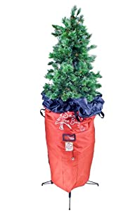 Santa's Bags SB-10100 7-1/2-Foot Upright Tree-Storage Bag