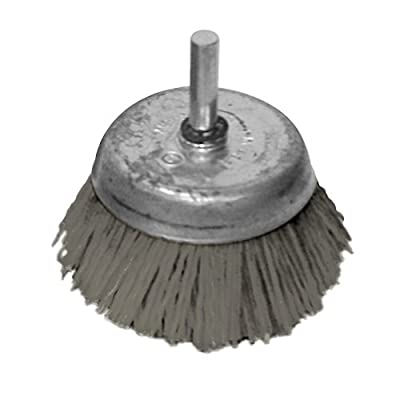 """A&H Abrasives 149099, Misc, Other, 2-1/2"""" Ny Aluminum Oxide Cup Brush 80 Grit"""