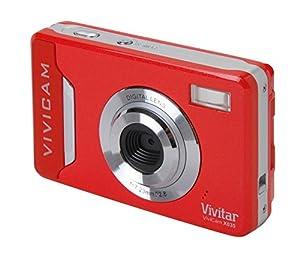 Vivitar Vivicam X035 Red (10MP, 4x Digital Zoom, 2.2 inch LCD Screen, Anti-Shake, Face Detection)