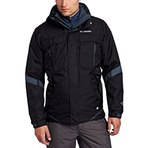 Columbia Men's Bugaboo Interchange Jacket, Black, X-Large $115.87