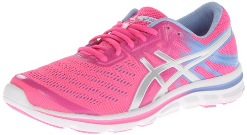 ASICS Women's Gel-Electro33 Running Shoe,Flash Pink/Silver/Lavender,8 M US