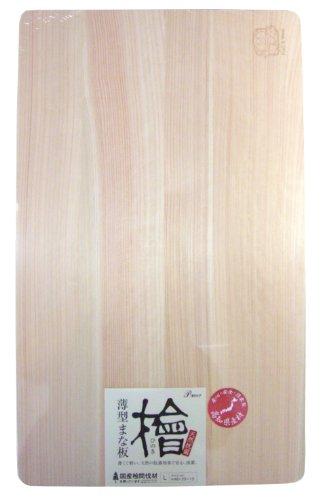 檜薄型まな板 L