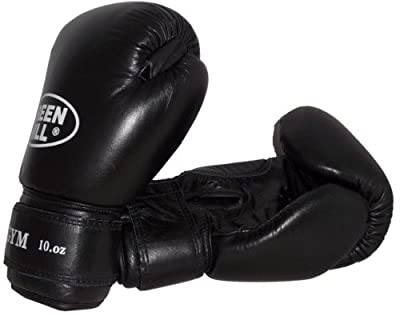 Boxing Gloves Gym Genuine leather by Greenhill 10 oz by Green Hill