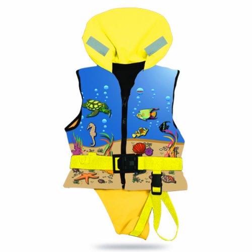 Lalizas Kinder Rettungsweste Kinderschwimmweste Chico 30 - 40 kg 100 N 12402-4