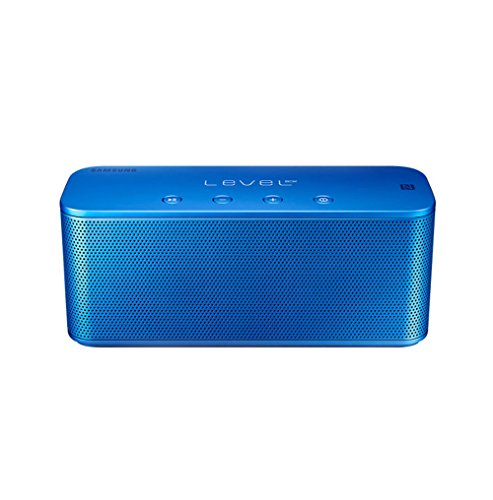 Click to buy Samsung EO-SG900 Level Box Mini Portable Bluetooth Speaker, Works for Smart Phones, Mp3 Players and Tablets including Galaxy, iPhone, iPad, Blackberry and more (Blue) - From only $64.99