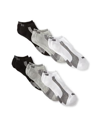 Puma Men's Half Terry Low Cut Socks (6 Pairs)