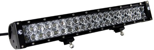 "Kc Hilites (324) 20"" 120W Led Spotlight/Flood Light Bar With Harness"