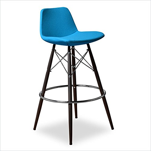 Christine Barstool in Turquoise (Set of 2)