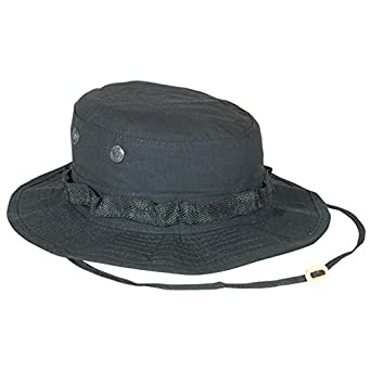 Fox Outdoor Boonie Hat, Black Ripstop, 7 75-11 BLACK 7