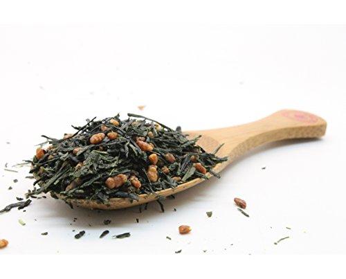 Imperial Gyokuro Genmaicha Japanese Loose Leaf Green Tea, Organic (3.5Oz / 100G)