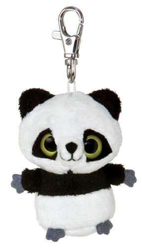 "Aurora World Plush - YooHoo Friends Clip On - PANDA (""Ring Ring"" - 3 inch) - 1"
