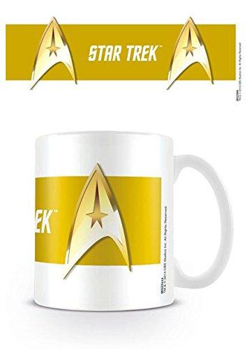 Star Trek - Tazza in ceramica Command, colore oro