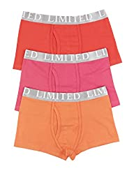 3 Pack Limited Cotton Rich Assorted Trunks