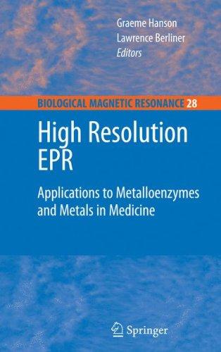 High Resolution EPR: Applications to Metalloenzymes and Metals in Medicine
