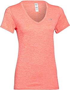 Under Armour Women's UA Novelty Tech™ V-Neck Extra Small AFTER BURN