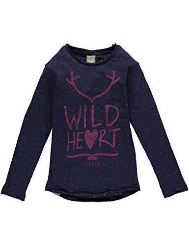 Bench Tuft, T-Shirt Bambina, Blau (Dark Navy Blue NY031), 8 anni