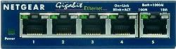 NETGEAR GS105 ProSafe 5-Port Gigabit Ethernet Desktop Switch - 10/100/1000 Mbps