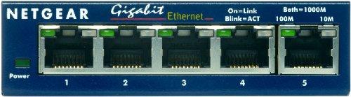 NETGEAR GS105 ProSafe 5-Port Gigabit Ethernet