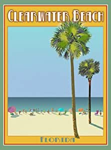 Amazon Com Clearwater Beach Florida Art Deco Style