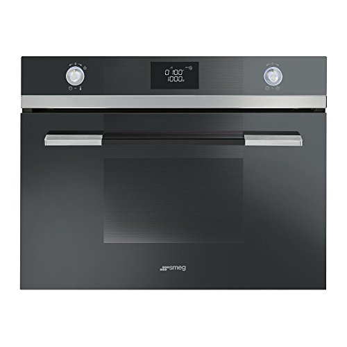 Smeg SF4120MN Microwave with Grill Linea Built-in Compact