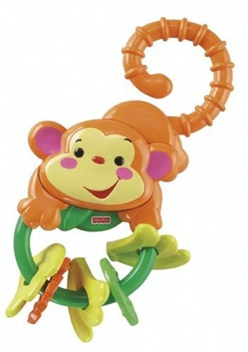 Fisher-Price Rainforest Monkey Teether (Fisher Price Rattle Teether compare prices)