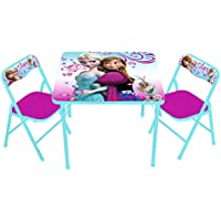 Disney Frozen Erasable Activity Table Set