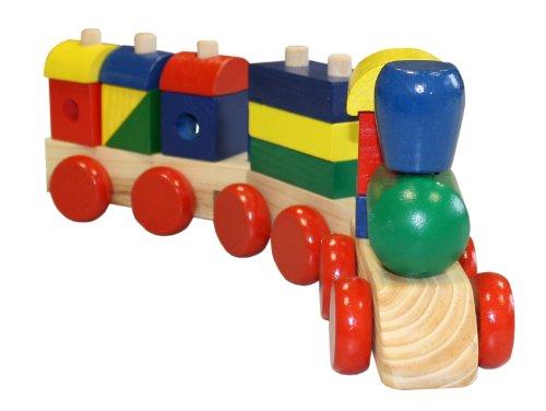 Idena 4100053 - Holzeisenbahn circa 41,5 x 13 x 8 cm