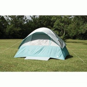 Texsport Cool Canyon 4 Person Square Dome Tent (Green/Gray, 8-Feet X 10-Feet X 65-Inch) front-461191
