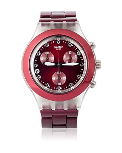 Swatch Reloj de cuarzo Woman FULL-BLOODED BURGUNDY SVCK4054AG 43.0 mm