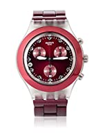 Swatch Reloj de cuarzo Woman FULL-BLOODED BURGUNDY SVCK4054AG 43 mm